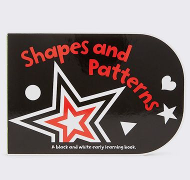 Shapes and patterns baby book