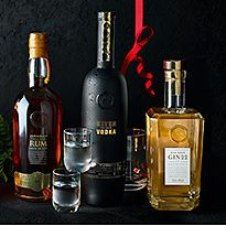 Selection of spirits