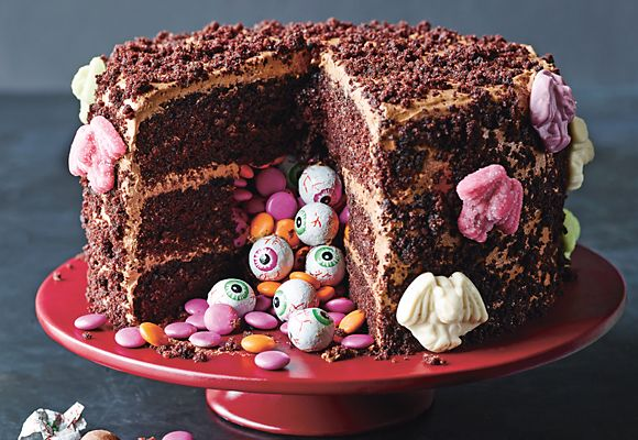 A Halloween chocolate cake recipe