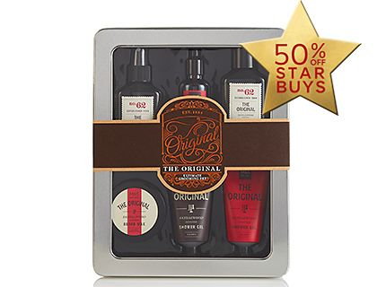 Men's hair and grooming kit