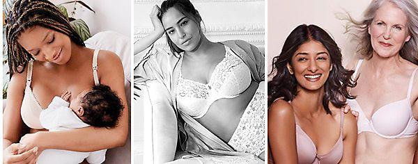 Women wearing M&S bras