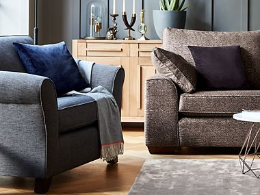 Abbey sofa and armchair