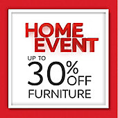 Up to 30 per cent off furniture