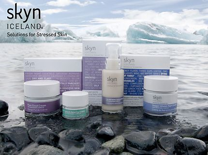 Skyn Iceland skin care products