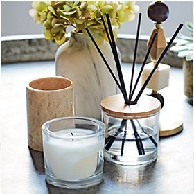 Candle and reed diffuser from the Conran home fragrance range