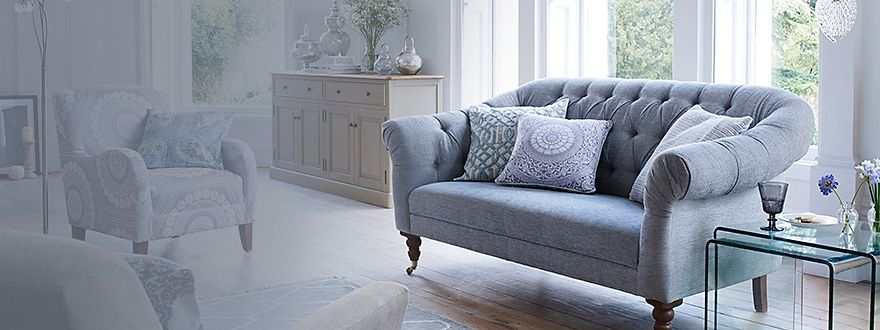 A sofa from the M&S living room furniture collection