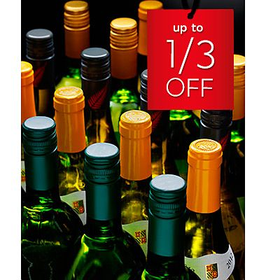 Our wine sale is on now
