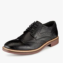 Mens blacksmart brogue shoes
