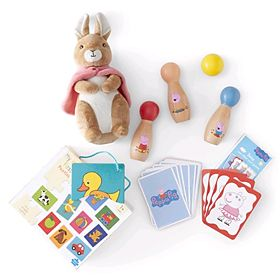 Selection of kids' toys