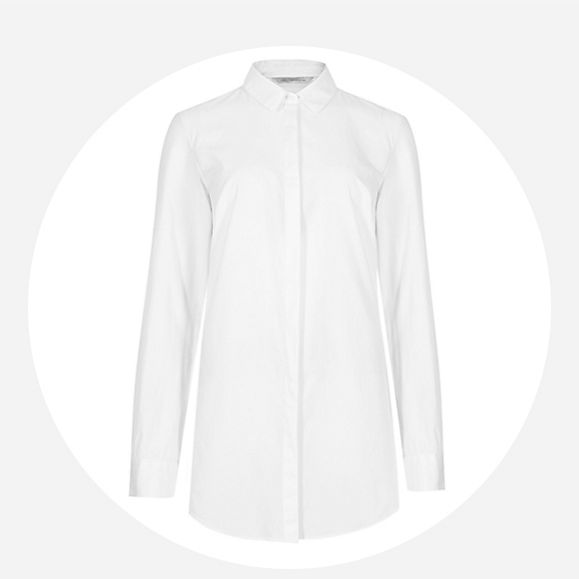 A white cotton shirt