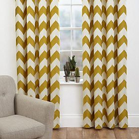 Curtains at a window
