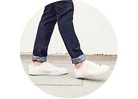 Mens shoes and jeans
