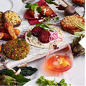 A selection of M&S Veggie dishes
