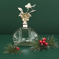 Women's perfume bottle