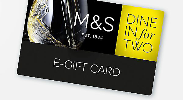 Dine In for Two with Free Wine E-Gift Card