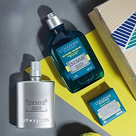Mens fragrance grooming