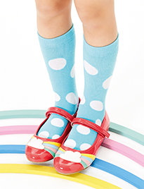 Printed kids' socks