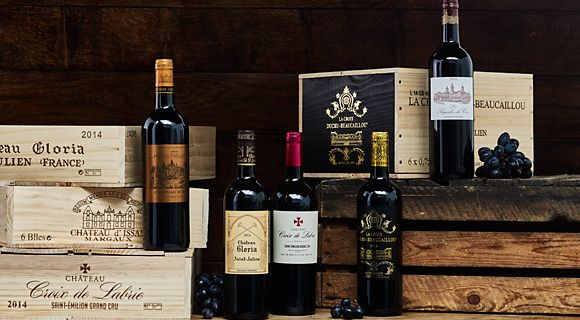 Shop the range of fine wine