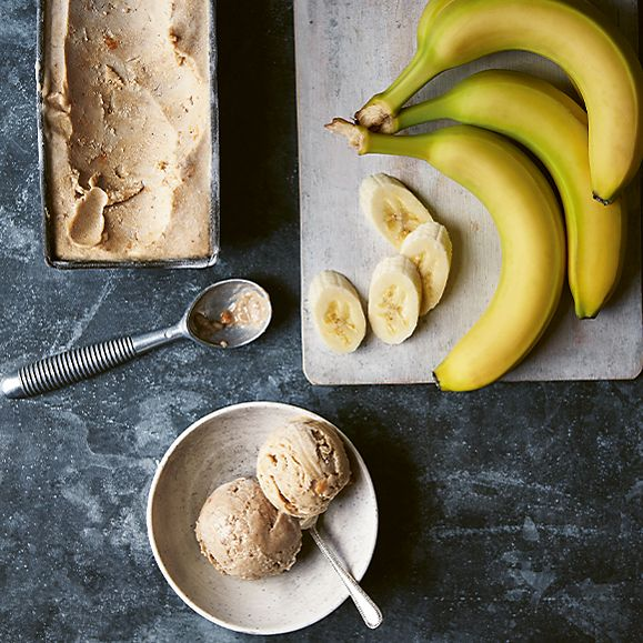 Banana 'ice-cream'