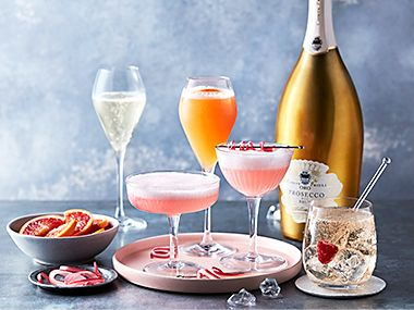 Mother's Day prosecco cocktails