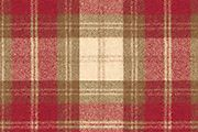 Winterberry Check,  red mix†* 100% wool