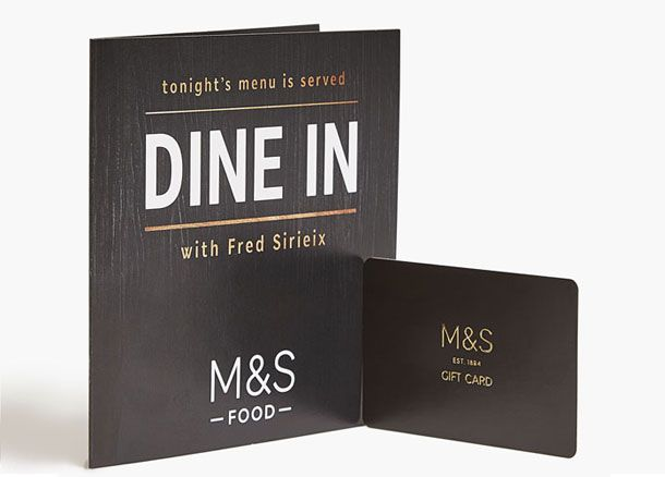 Dine In gift card