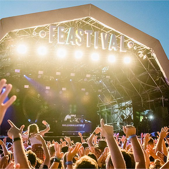 Grandmaster Flash performing at the 2019 Big Feastival