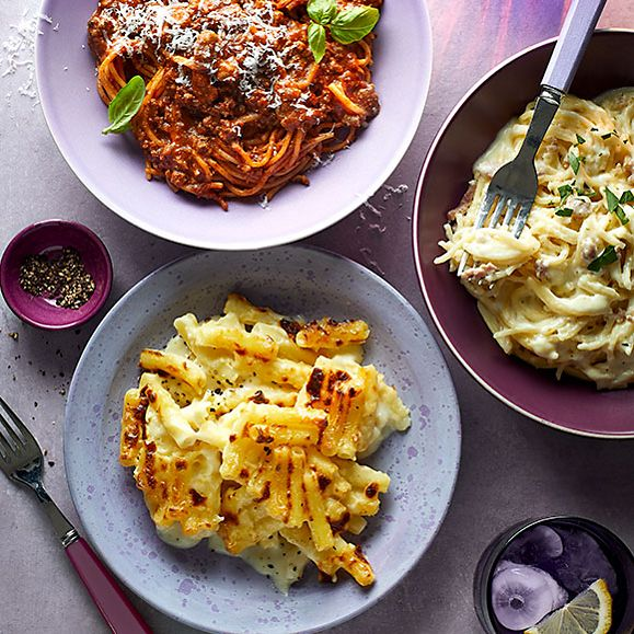 A selection of Made Without pastas