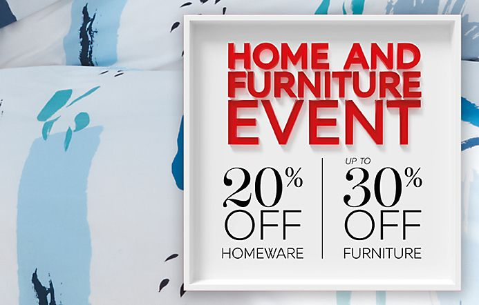 Home Event Up to 30% off