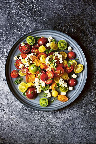 Tomato and feta salad