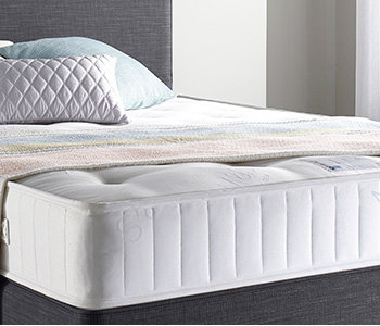 Mattress with cushions and blanket