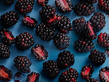 Food news on blackberries