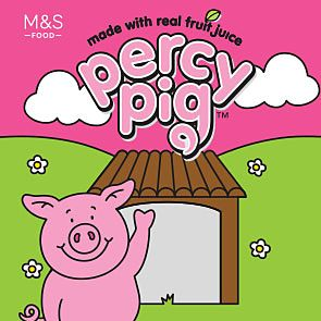 Percy Pig sweet packet