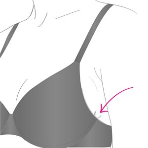 Image of Is your wire digging in your boob at the side?