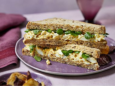 Made Without wheat egg and cress sandwich