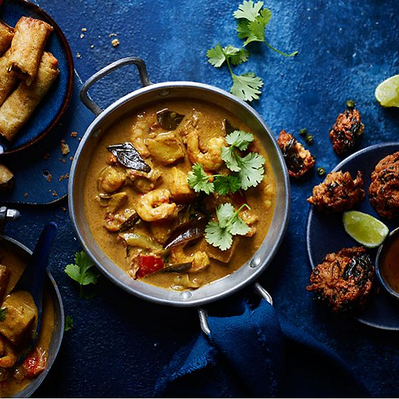 Sri Lanka prawn curry