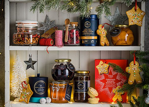 Fill the cupboards for Christmas