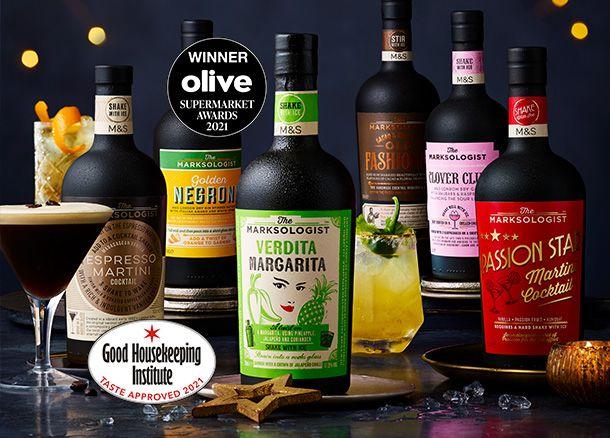 Marksologist cocktail range