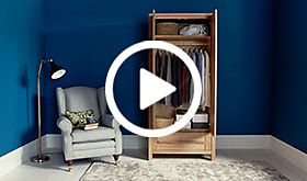 Video of how to organise your wardrobe