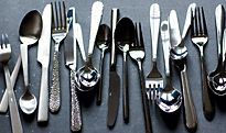 Assorted cutlery