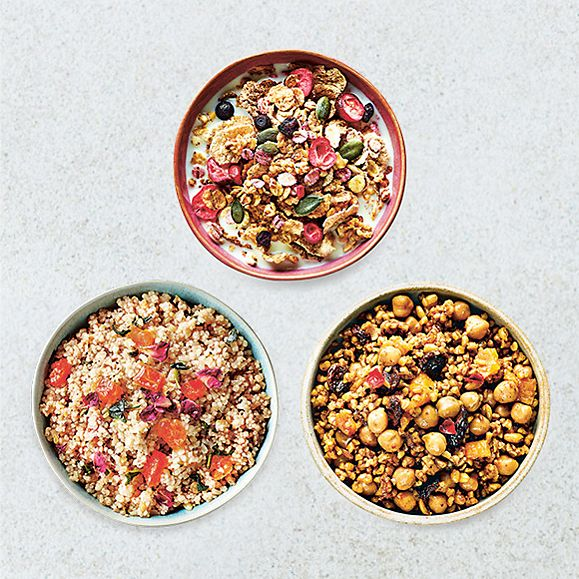 Three ways to eat more grains