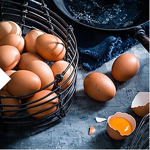 A net of eggs