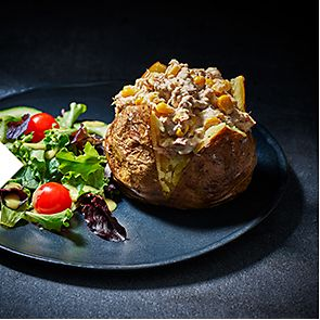 Tuna jacket potato