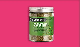 Cook with M&S za'atar