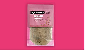 Cook with M&S magic sprinkle