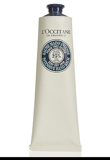 Tube of L'Occitane intensive hand balm