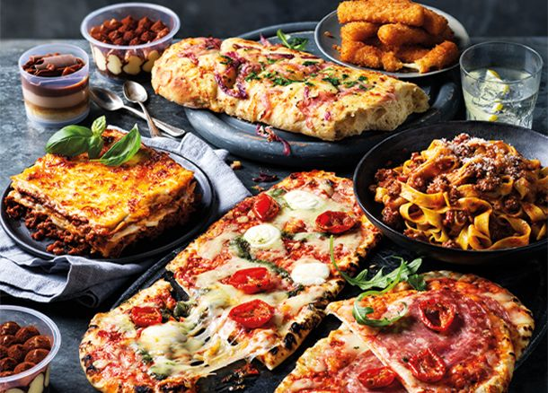 Italian Night Family Dine In feast