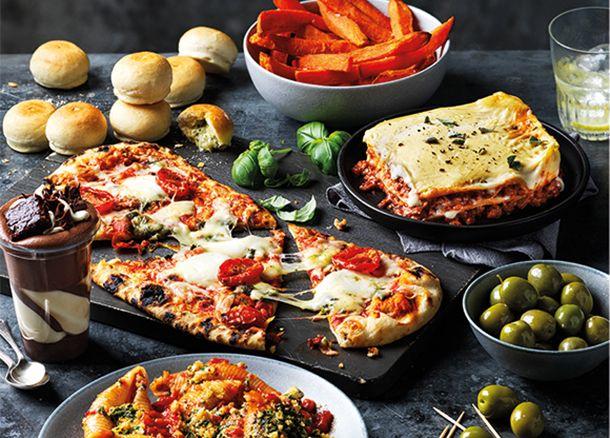Family Dine In veggie options