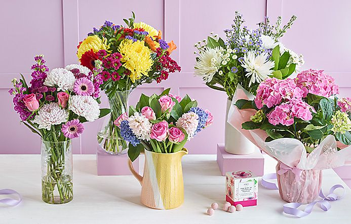 Mothers Day Bouquets With Free Chocolates