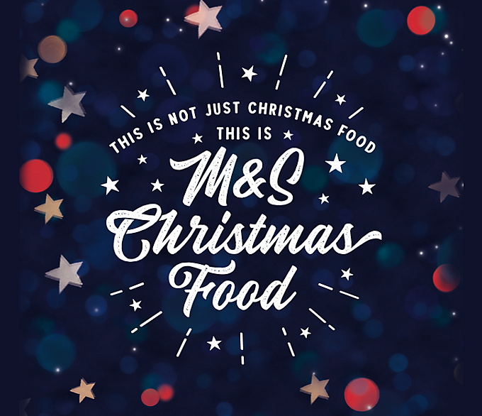 M&S Christmas Food